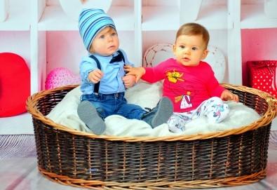Семейна, детска или фотосесия за влюбени + подарък фотокнига от Photosesia.com - Снимка
