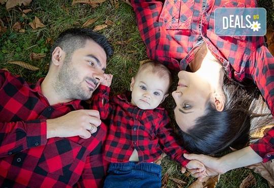 Детска, семейна или индивидуална фотосесия, външна или в студио, плюс обработка на всички кадри от ARSOV IMAGE - Снимка 16