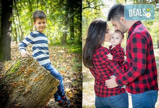 Детска, семейна или индивидуална фотосесия, външна или в студио, плюс обработка на всички кадри от ARSOV IMAGE - Снимка 15