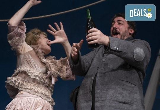 Комедията Зорба с Герасим Георгиев - Геро в Малък градски театър Зад канала на 19-ти май (сряда) - Снимка 3