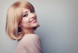 Актуална прическа! Подстригване, терапия по избор и оформяне на косата със сешоар във Фризьорски салон Никол - Снимка