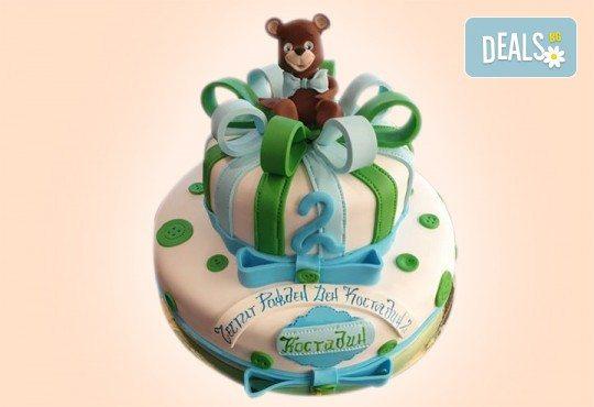 Честито бебе! Торта за изписване от родилния дом, за 1-ви рожден ден или за прощъпулник от Сладкарница Джорджо Джани - Снимка 43