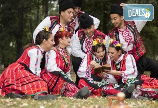 Запознайте се с автентичния български фолклор! 5 посещения на народни танци в клуб за народни танци Хороводец - Снимка 1