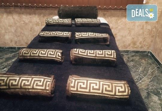 Пълен релакс! Дарът на Фараона с 180 мин. в 3 арома масажа с шоколад, алое и горски плодове в Студио за красота Secret Vision - Снимка 8