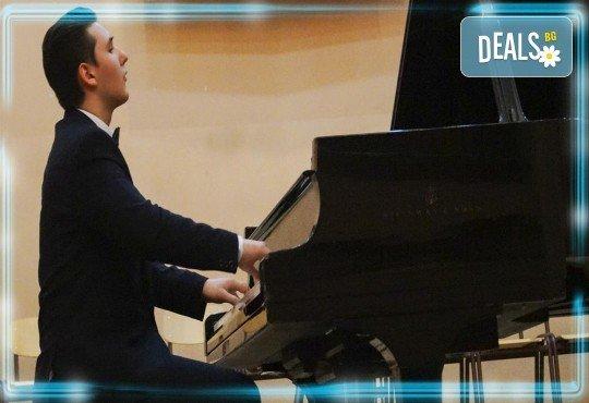 Kлавирен рецитал на Марио Бобоцов 12.06. (събота) в Камерна зала България, част от МФ Софийски музикални седмици - Снимка 1