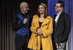 На 17-ти юни (четвъртък) гледайте Кой се бои от Вирджиния Улф с Ирини Жамбонас, Владимир Зомбори, Каталин Старейшинска и Малин Кръстев в Малък градски театър Зад канала - Снимка