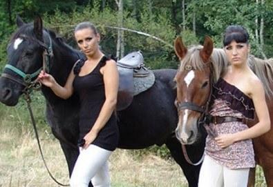 Промоционална оферта от конна база Св. Иван Рилски за конна езда на чист въздух във Владая - Снимка