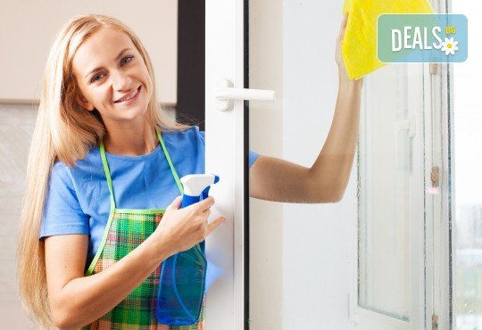 Чистота в дома! Измиване на прозорци на жилище до 80 или до 100кв.м. от фирма Quickclean - Снимка 2