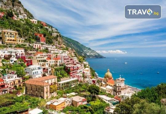 Красотата на Южна Италия! 3 нощувки със закуски в хотел 3*, транспорт, посещение на Неапол, Позитано, вулкана Везувий, Помпей и китни италиански села с България Травъл - Снимка 5