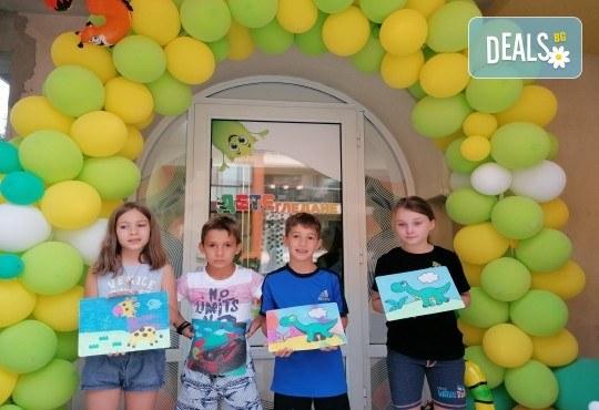 Деца творят красота! Оцветяване на детски картини с пясък (за възраст от 3 г. до 10 г.), до 7 деца в група в Детски център ДЕТЕгледане - Снимка 8