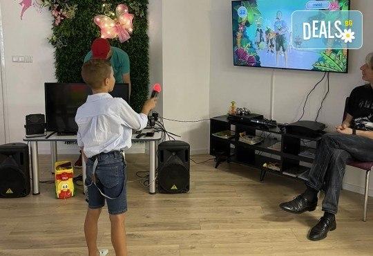 Да танцуваме на воля! Състезателни спортно-музикални игри за деца и дискотека (за възраст от 4 г. до 12 г.), до 10 деца в група в Детски център ДЕТЕгледане - Снимка 11