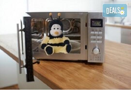 Плюшена нагряваща се Пчеличка от Warmies от Toys.bg - Снимка 3