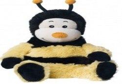 Плюшена нагряваща се Пчеличка от Warmies от Toys.bg - Снимка