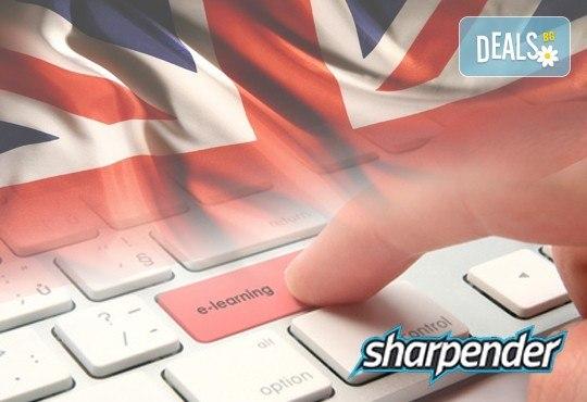 Индивидуален 3 или 6 месечен онлайн курс по английски за ниво А1, А2 или А1 + А2, от онлайн езикови курсове Sharpender - Снимка 1