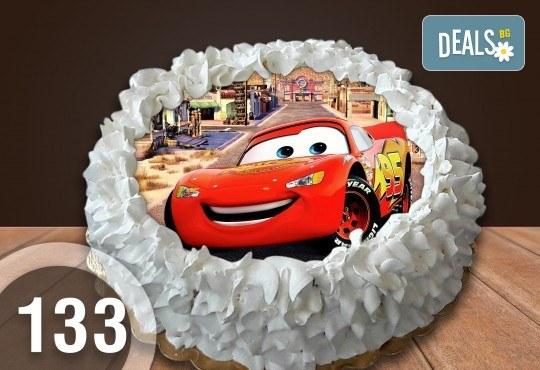 Торта Мики Маус, с друг приказен герой или със снимка на клиента: 8, 12, 16, 20, 25 или 30 парчета от Сладкарница Джорджо Джани - Снимка 25