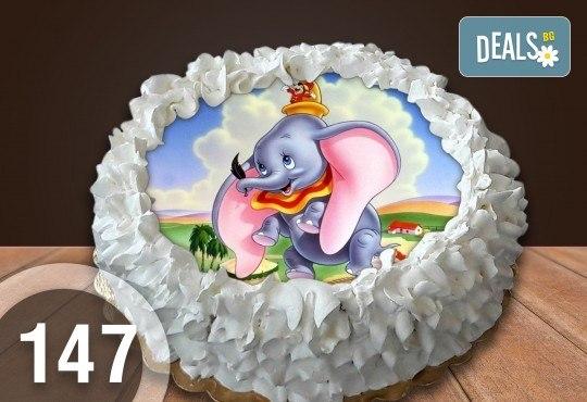 Торта Мики Маус, с друг приказен герой или със снимка на клиента: 8, 12, 16, 20, 25 или 30 парчета от Сладкарница Джорджо Джани - Снимка 27