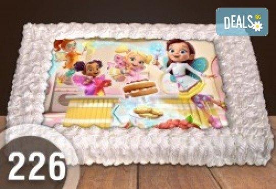 Торта Мики Маус, с друг приказен герой или със снимка на клиента: 8, 12, 16, 20, 25 или 30 парчета от Сладкарница Джорджо Джани - Снимка 52