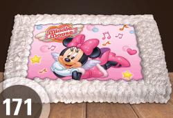 Торта Мики Маус, с друг приказен герой или със снимка на клиента: 8, 12, 16, 20, 25 или 30 парчета от Сладкарница Джорджо Джани - Снимка