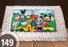 Торта Мики Маус, с друг приказен герой или със снимка на клиента: 8, 12, 16, 20, 25 или 30 парчета от Сладкарница Джорджо Джани - thumb 2