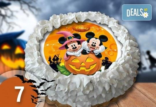 Торта Мики Маус, с друг приказен герой или със снимка на клиента: 8, 12, 16, 20, 25 или 30 парчета от Сладкарница Джорджо Джани - Снимка 4
