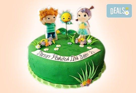 MAX цветове! Детски торти MAX цветове с 2, 3 или 4 фигурки, фотодекорация и апликация по дизайн на Сладкарница Джорджо Джани - Снимка 24