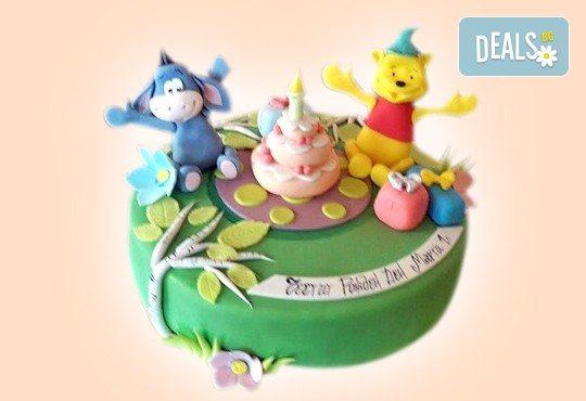 MAX цветове! Детски торти MAX цветове с 2, 3 или 4 фигурки, фотодекорация и апликация по дизайн на Сладкарница Джорджо Джани - Снимка 50