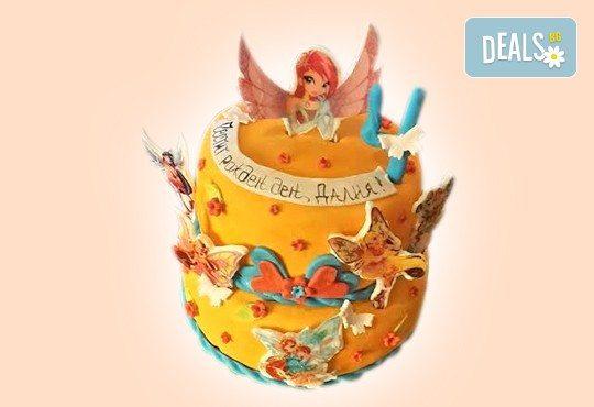 MAX цветове! Детски торти MAX цветове с 2, 3 или 4 фигурки, фотодекорация и апликация по дизайн на Сладкарница Джорджо Джани - Снимка 51