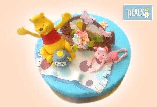MAX цветове! Детски торти MAX цветове с 2, 3 или 4 фигурки, фотодекорация и апликация по дизайн на Сладкарница Джорджо Джани - Снимка 27