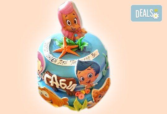 MAX цветове! Детски торти MAX цветове с 2, 3 или 4 фигурки, фотодекорация и апликация по дизайн на Сладкарница Джорджо Джани - Снимка 49