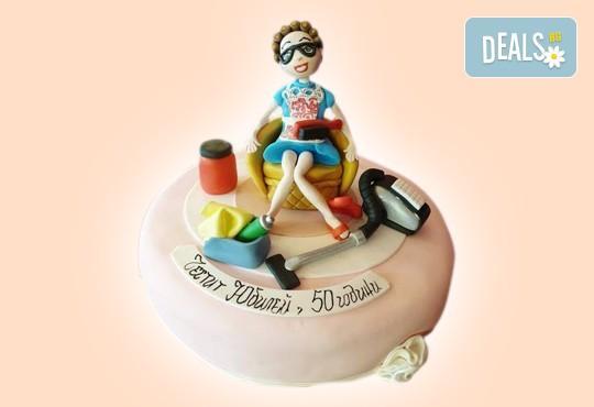 Бъди професионалист! Торта за професионалисти: вкусна торта за фризьори, IT специалисти, съдии, футболисти, режисьори, музиканти и други професии от Сладкарница Джорджо Джани - Снимка 17