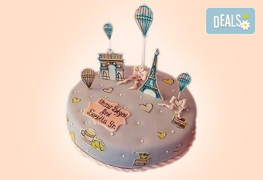 Бъди професионалист! Торта за професионалисти: вкусна торта за фризьори, IT специалисти, съдии, футболисти, режисьори, музиканти и други професии от Сладкарница Джорджо Джани - Снимка 29