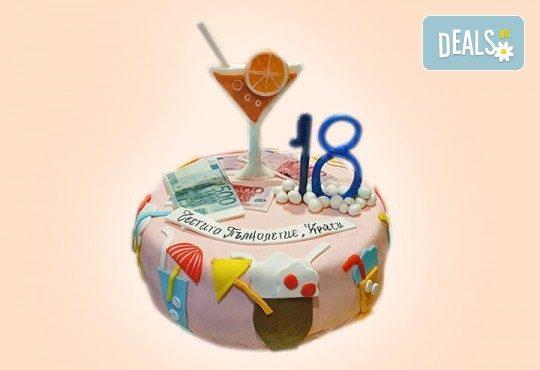 Бъди професионалист! Торта за професионалисти: вкусна торта за фризьори, IT специалисти, съдии, футболисти, режисьори, музиканти и други професии от Сладкарница Джорджо Джани - Снимка 19