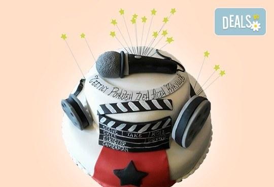 За музиканти! Торта за DJ, музиканти, певци, художници и артисти от Сладкарница Джорджо Джани - Снимка 9