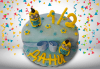 Торта за бебе! Детска фигурална торта 1/2 за бебоци на шест месеца от Сладкарница Джорджо Джани - thumb 1