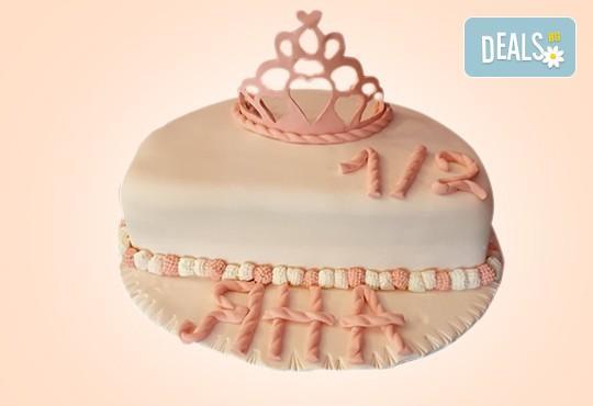 Торта за бебе! Детска фигурална торта 1/2 за бебоци на шест месеца от Сладкарница Джорджо Джани - Снимка 12