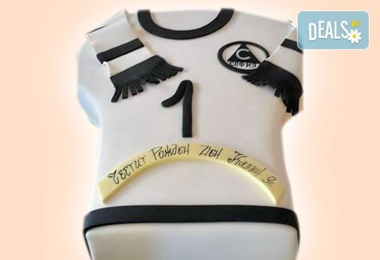 За спорта! Торти за футболни фенове, геймъри и почитатели на спорта от Сладкарница Джорджо Джани - Снимка 24