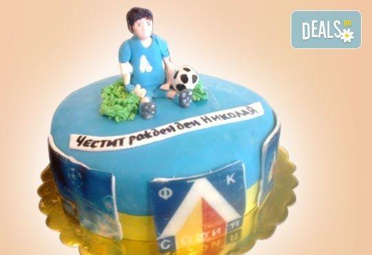 3D торта за футбулни фенове и фенове на спорта от Сладкарница Джорджо