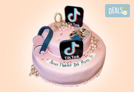 С Вашия бранд! Фирмена торта с лого и индивидуален дизайн от Сладкарница Джорджо Джани - Снимка 2