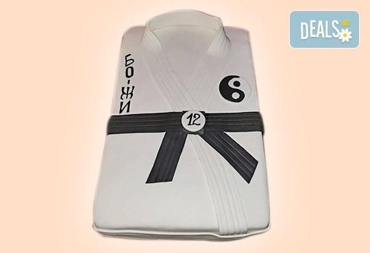 С Вашия бранд! Фирмена торта с лого и индивидуален дизайн от Сладкарница Джорджо Джани - Снимка 46