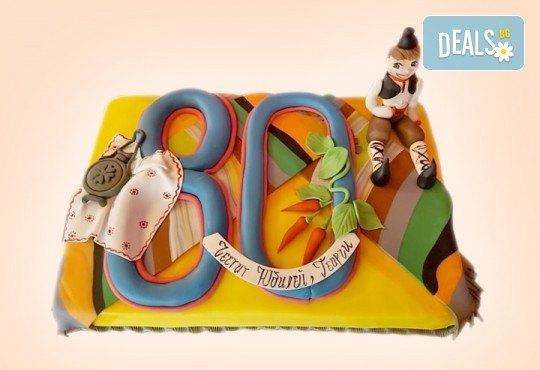 С цифри! Изкушаващо вкусна бутикова АРТ торта с цифри и размер по избор от Сладкарница Джорджо Джани - Снимка 10
