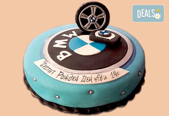 За любимия мъж! Торта за мъже с индивидуален дизайн и размери по избор от Сладкарница Джорджо Джани - Снимка 1