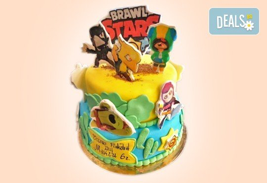 За момчета! Детска 3D торта за момчета с коли и герои от филмчета с ръчно моделирана декорация от Сладкарница Джорджо Джани - Снимка 13