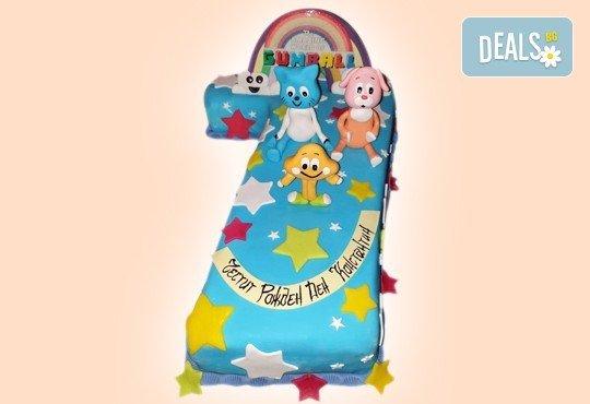 За момчета! Детска 3D торта за момчета с коли и герои от филмчета с ръчно моделирана декорация от Сладкарница Джорджо Джани - Снимка 81