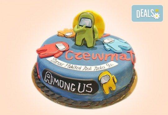 За момчета! Детска 3D торта за момчета с коли и герои от филмчета с ръчно моделирана декорация от Сладкарница Джорджо Джани - Снимка 7