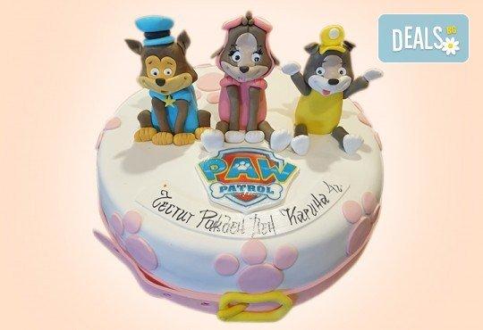 За момчета! Детска 3D торта за момчета с коли и герои от филмчета с ръчно моделирана декорация от Сладкарница Джорджо Джани - Снимка 28