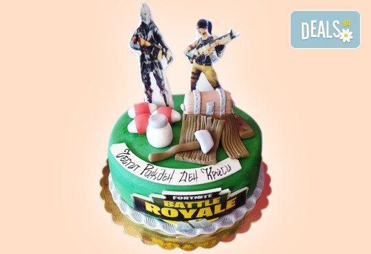 За момчета! Детска 3D торта за момчета с коли и герои от филмчета с ръчно моделирана декорация от Сладкарница Джорджо Джани - Снимка 5