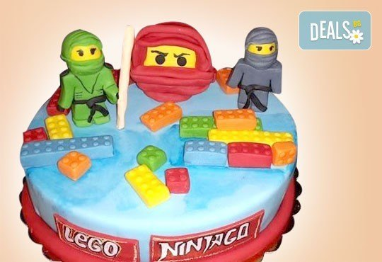 За момчета! Детска 3D торта за момчета с коли и герои от филмчета с ръчно моделирана декорация от Сладкарница Джорджо Джани - Снимка 51