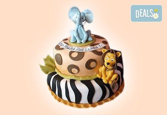 За най-малките! Детска торта с Мечо Пух, Смърфовете, Спондж Боб и други герои от Сладкарница Джорджо Джани - Снимка 20