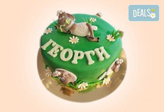 За най-малките! Детска торта с Мечо Пух, Смърфовете, Спондж Боб и други герои от Сладкарница Джорджо Джани - Снимка 100