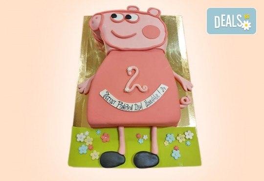 За най-малките! Детска торта с Мечо Пух, Смърфовете, Спондж Боб и други герои от Сладкарница Джорджо Джани - Снимка 4